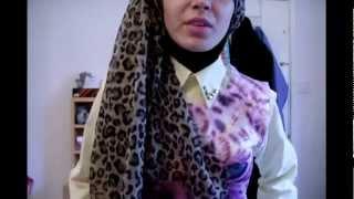 Hijab tutorial: Wrapped (turban) Style