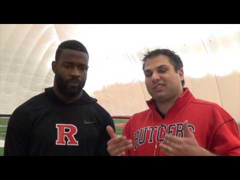 best website af620 37aa4 2016 Rutgers Linebacker Steve Longa Pro Day Workout