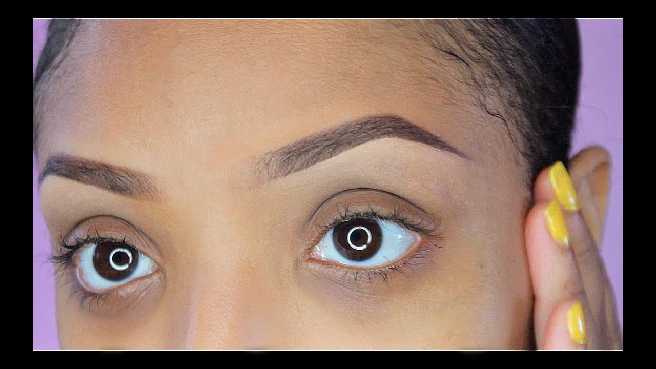 Eyebrow Tutorial 2015 Natural Fuller Brows Youtube