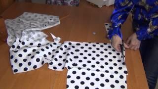 Как кроить брюки: раскрой мелких деталей(Как кроить брюки сразу на ткани уже было показано в двух предыдущих видео мастер классах по технике кроя...., 2014-04-22T06:18:57.000Z)