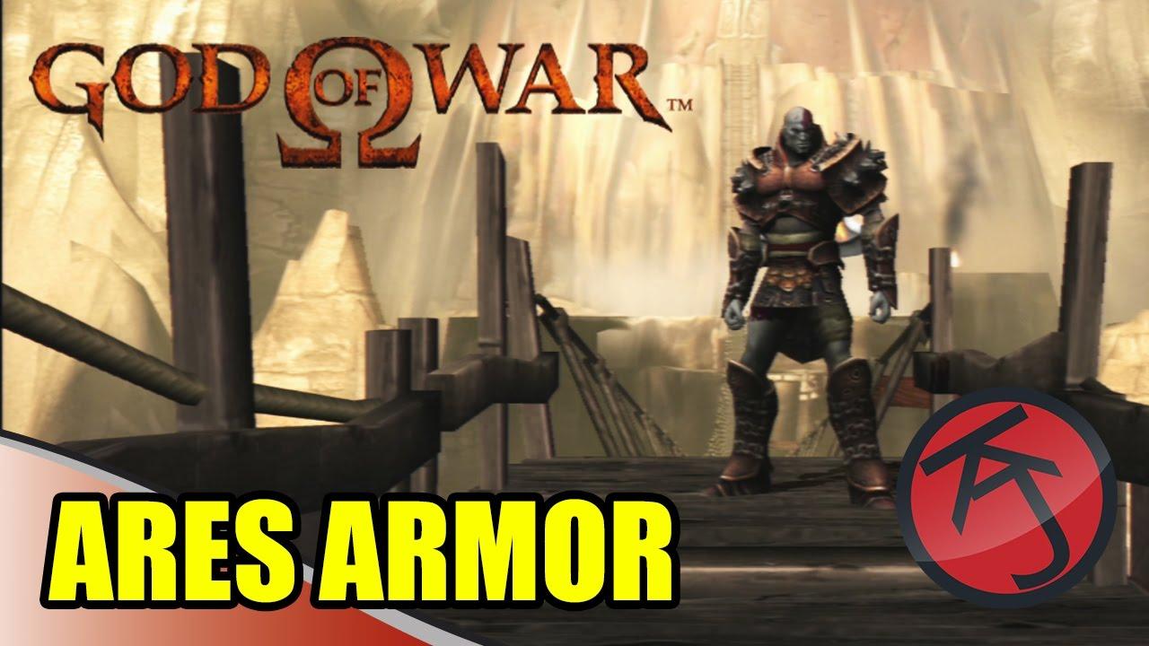 God Of War - ARES ARMOUR SKIN & GAMEPLAY