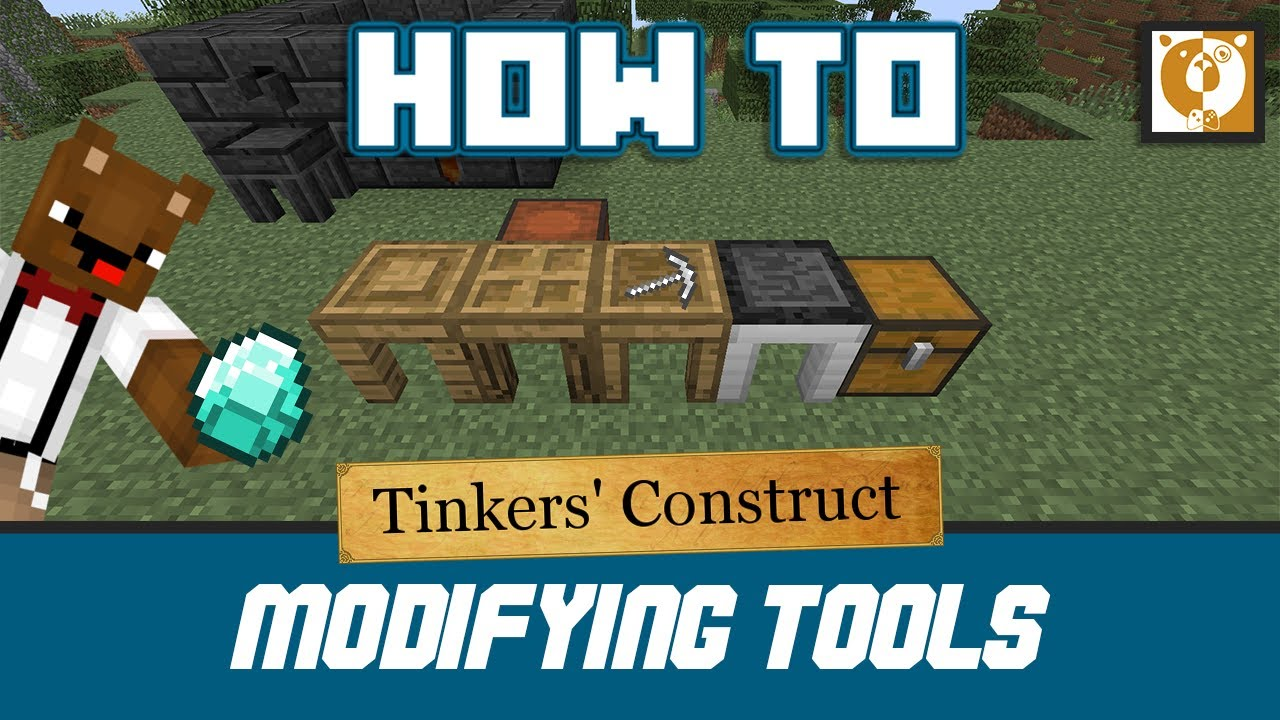 how to upgrade tinkers construct tools
