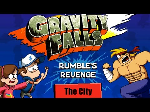 Gravity Falls: Rumbles Revenge - THE END (Level 4 - The City Gameplay)