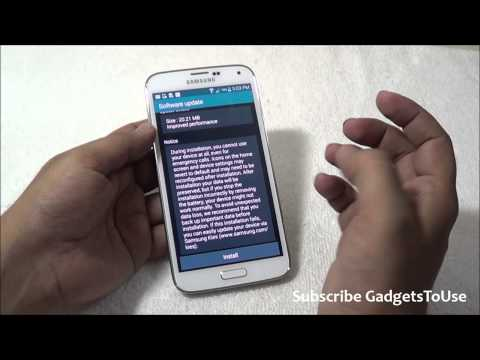 Samsung Galaxy S5 Software Update Guide   Schedule Update Install and OTA Fetch Guide