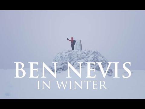 Climbing Ben Nevis In Winter (Mental Health Awareness)