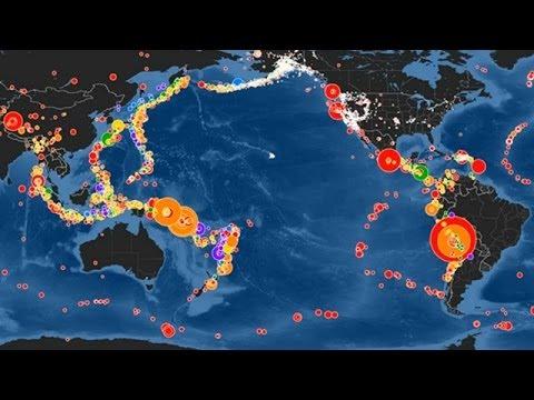 Animación: un mes de abril con 13 grandes sismos BBC MUNDO