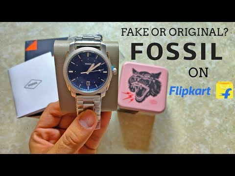 Received Fake Fossil Watch From Flipkart On Big Billion Days? | Unboxing