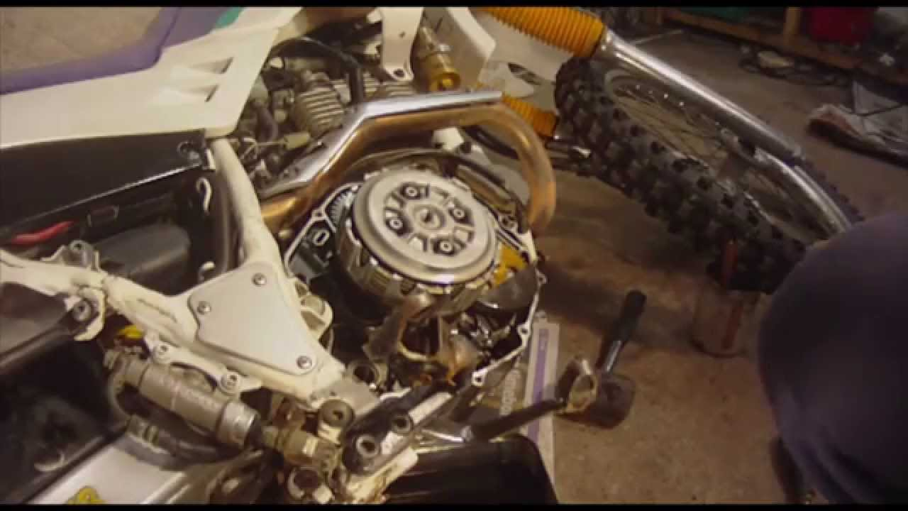 Motorcycle Clutch Removal Yamaha Serow Xt 225