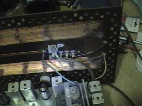 GE 212 radio restoration p5o7