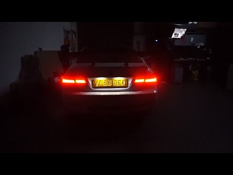 LED LIT License Plate - Nighttime Industries
