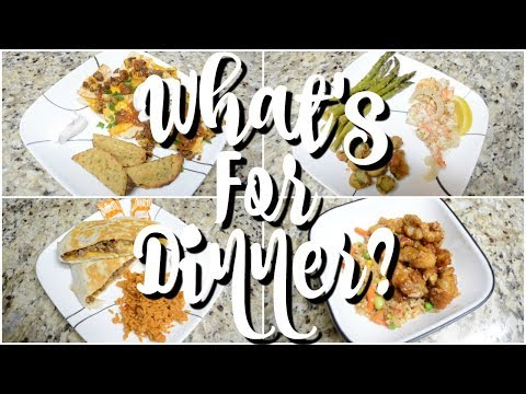 WHAT'S FOR DINNER | EASY DINNER RECIPES | AFFORDABLE MEALS | WORKING MOM DINNER IDEAS