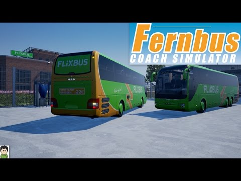 Fernbus Coach Simulator - The Long Trip To Rostock! - Twitch Stream