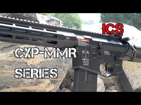 ICS CXP MMR series at Fox Airsoft - YouTube