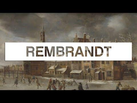 Les grands maîtres de la peinture: Rembrandt - Toute L