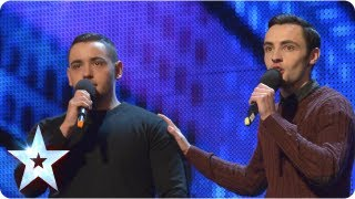 Richard and Adam singing 'The Impossible Dream' - Week 2 Auditions | Britain's Got Talent 2013