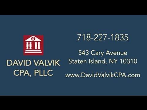 David Valvik, CPA, PLLC | Staten Island NY Accountants