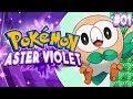 Pokemon Aster Violet Part 1 - NEW EEVEELUTIONS Pokemon Fan Game Gameplay Walkthrough