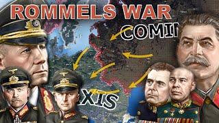 Can Rommel win WW2? - Hoi4 Timelapse