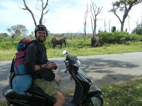 Motorrad Weltreise Indien - Als Backpacker mit gemietetem Motorrad reisen wo der Pfeffer wächst