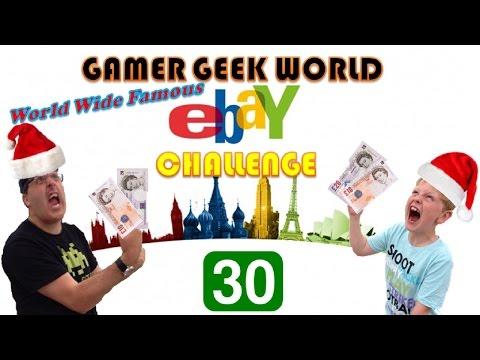Gamer Geek World Ebay Challenge No 30 £30 Special