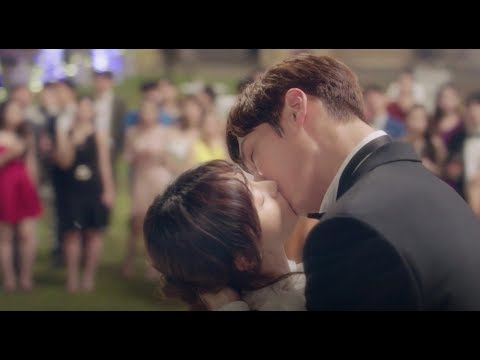 All the scenes kissing in devilish joy