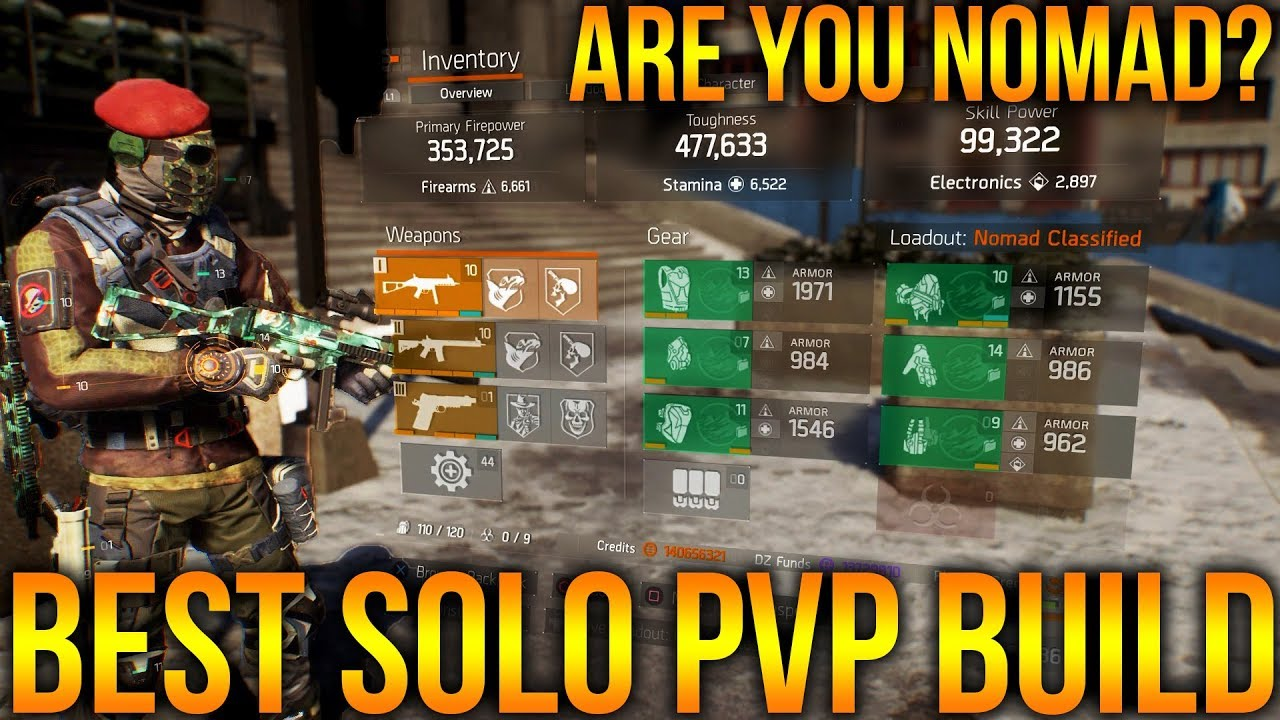 Best Striker Pvp Build With Armor