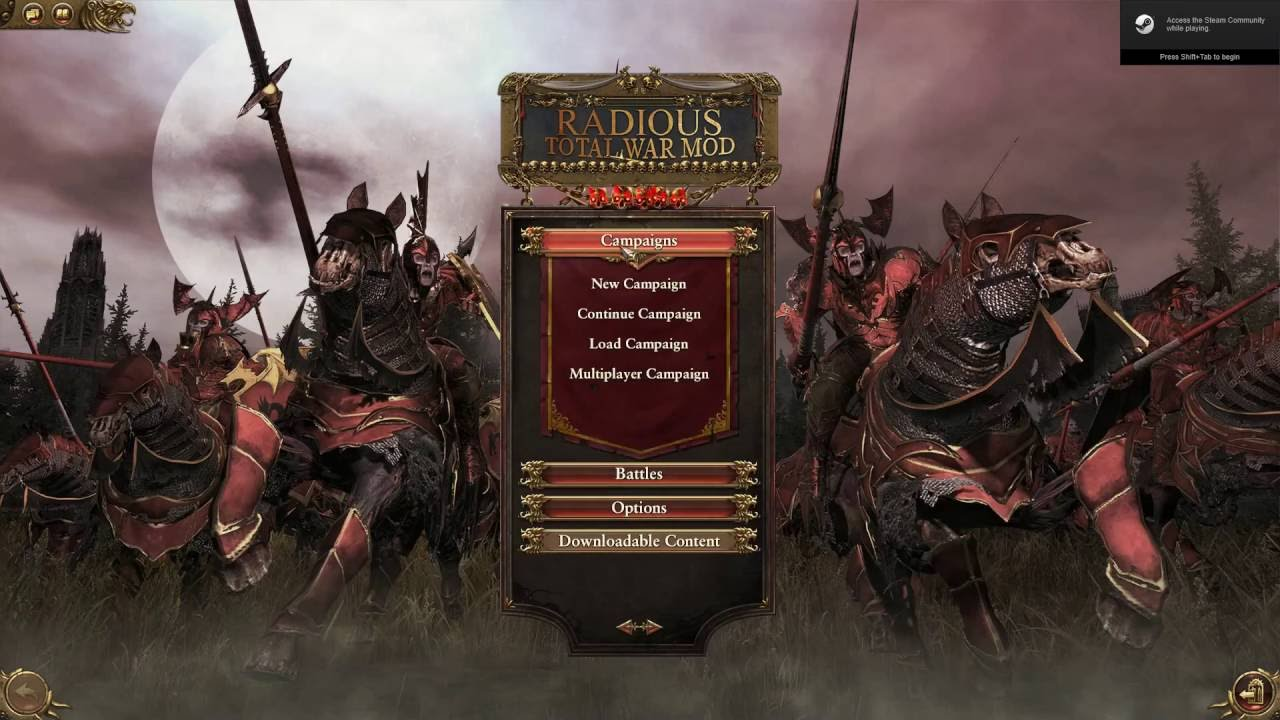 How to Fix Radious Total War Compatibility With Other Mods
