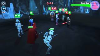 star wars galaxy of heroes pvp arena 1 aoe team