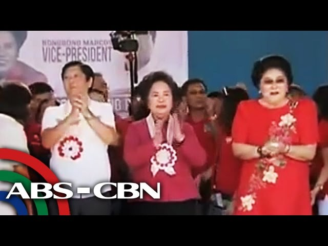 Marcoses almost back in the Palace, 30 years after EDSA