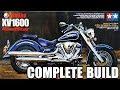 Gambar cover Yamaha 1600 RoadStar - 1/12 - Tamiya - Complete build