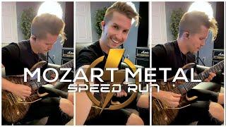 Mozart x Metal • Speed Run ⚡️ #Shorts