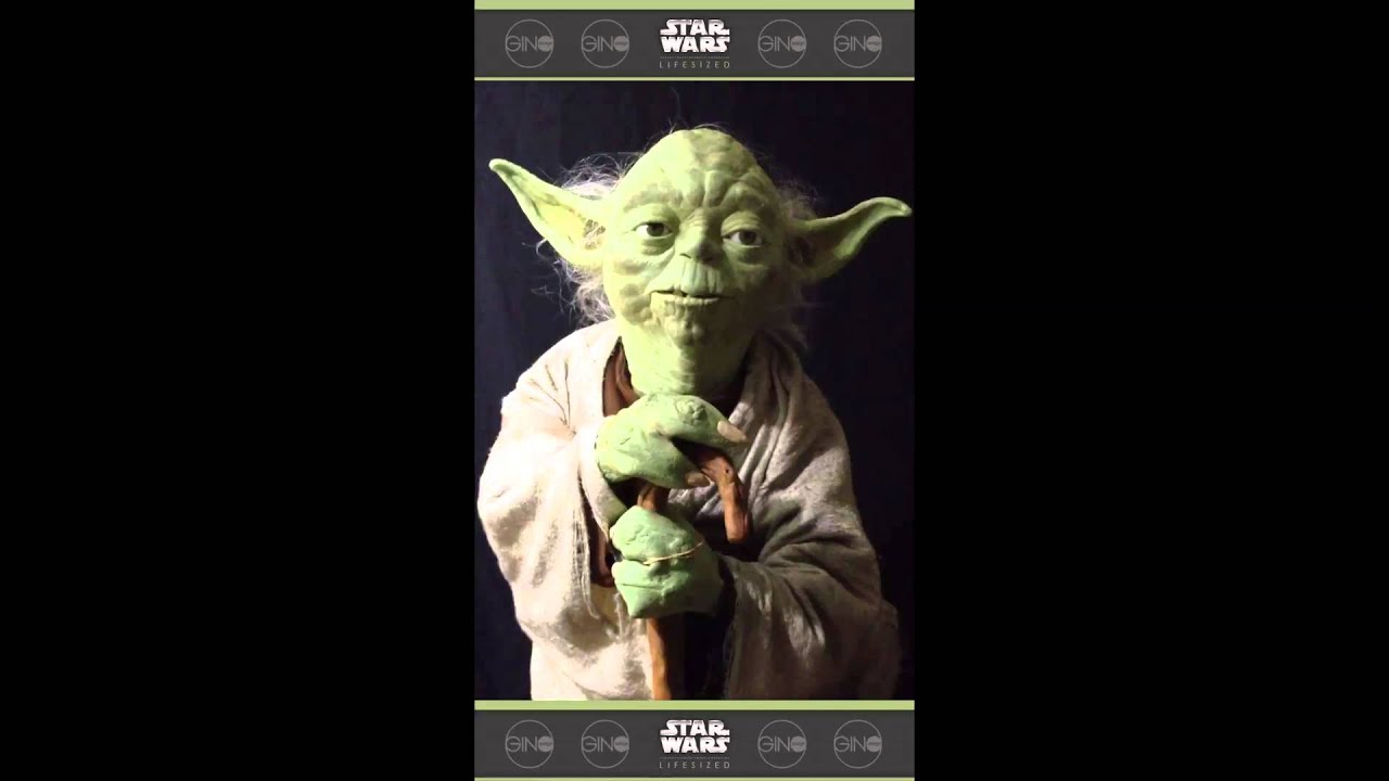 Yoda Puppet Replica From The Empire Strikes Back Youtube