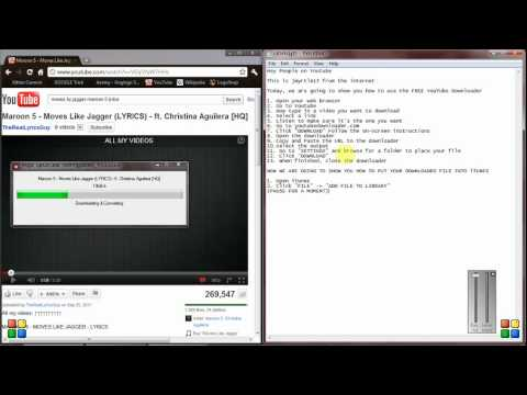 How to Use the FREE YouTube Downloader