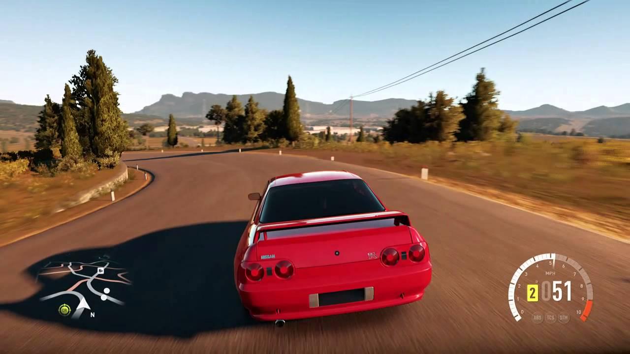 Forza Horizon 2 Modified Nissan Skyline R32 Gameplay Hd