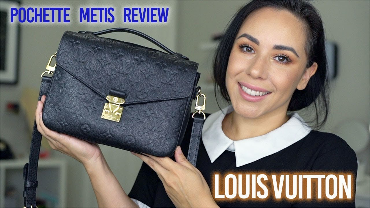 0026accce405 Louis Vuitton Pochette Metis Review | Monogram Empreinte - YouTube