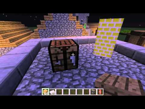 how to make an iron shield in minecraft