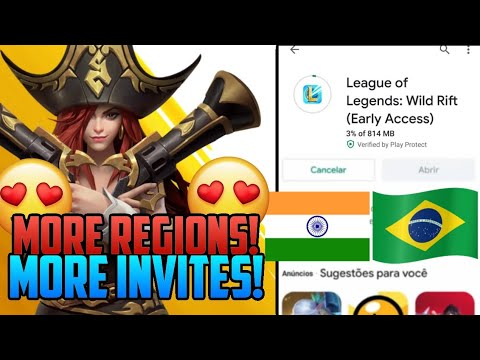 Lol Mobile Wild Rift More Beta Invites And More Regions Coming League Of Legends Wild Rift Update Youtube