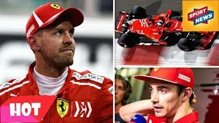 Charles Leclerc Told Not To Overtake Sebastian Vettel In Shock Ferrari Team Orders