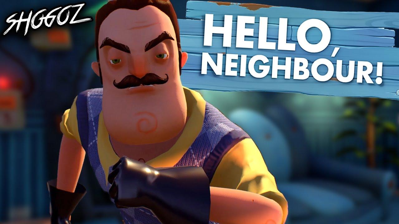 Hello Neighbor Gameplay Walkthrough Part 1 Hello