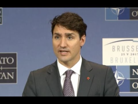 Justin Trudeau Asked If He Trusts Trump On Intelligence Sharing