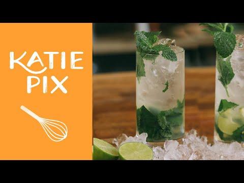 Refreshing Summer Mojito Cocktail Recipe | Katie Pix