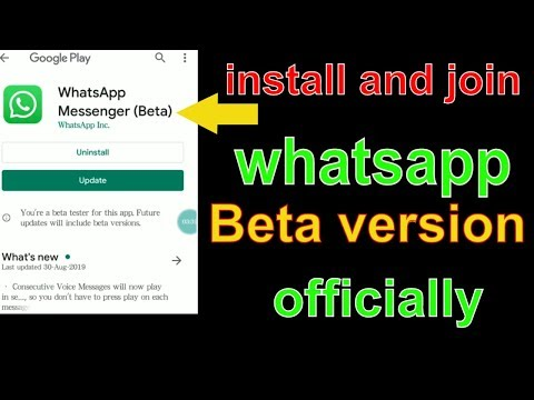 How To Join Whatsapp Beta Version | How To Download Whatsapp Beta Version For Android