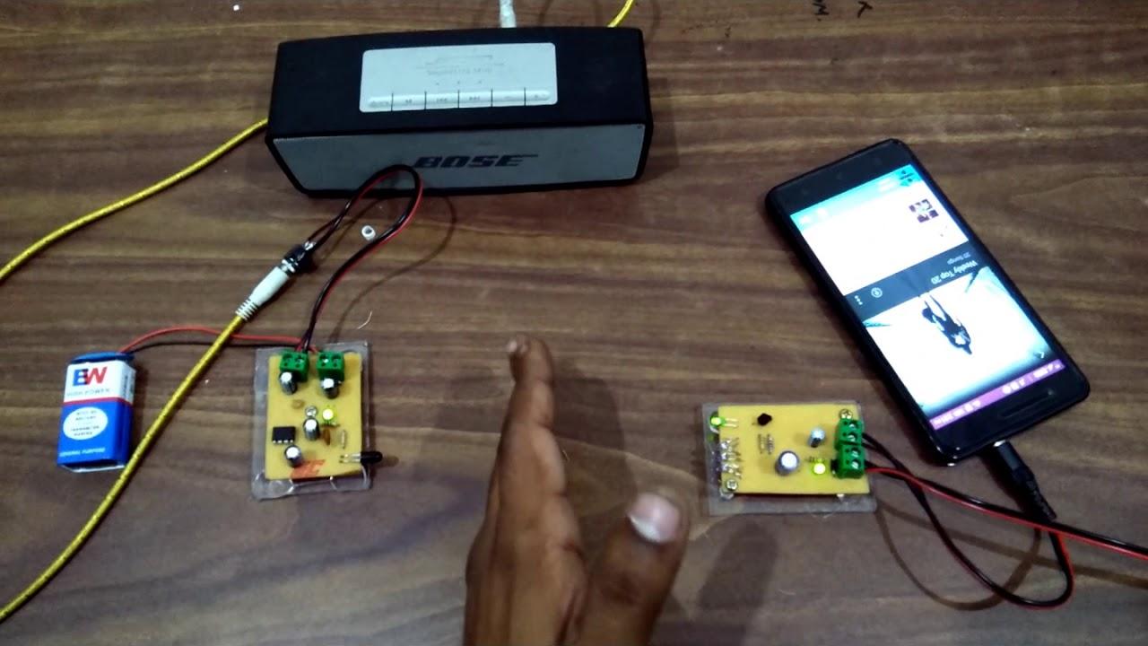 Download Audio Data tarnsmission Using IR