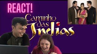 INDIANO REAGINDO À NOVELA CAMINHO DAS ÍNDIAS!