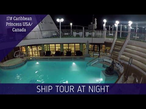 Caribbean Princess Ship Tour