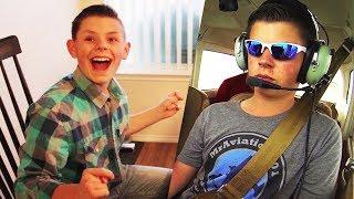 Taking my BIGGEST YouTube fan FLYING!