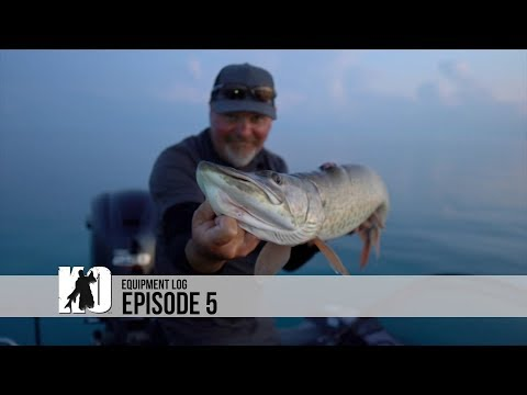 Lake St. Clair Muskies - Episode 5 Recommended Lures And Gear