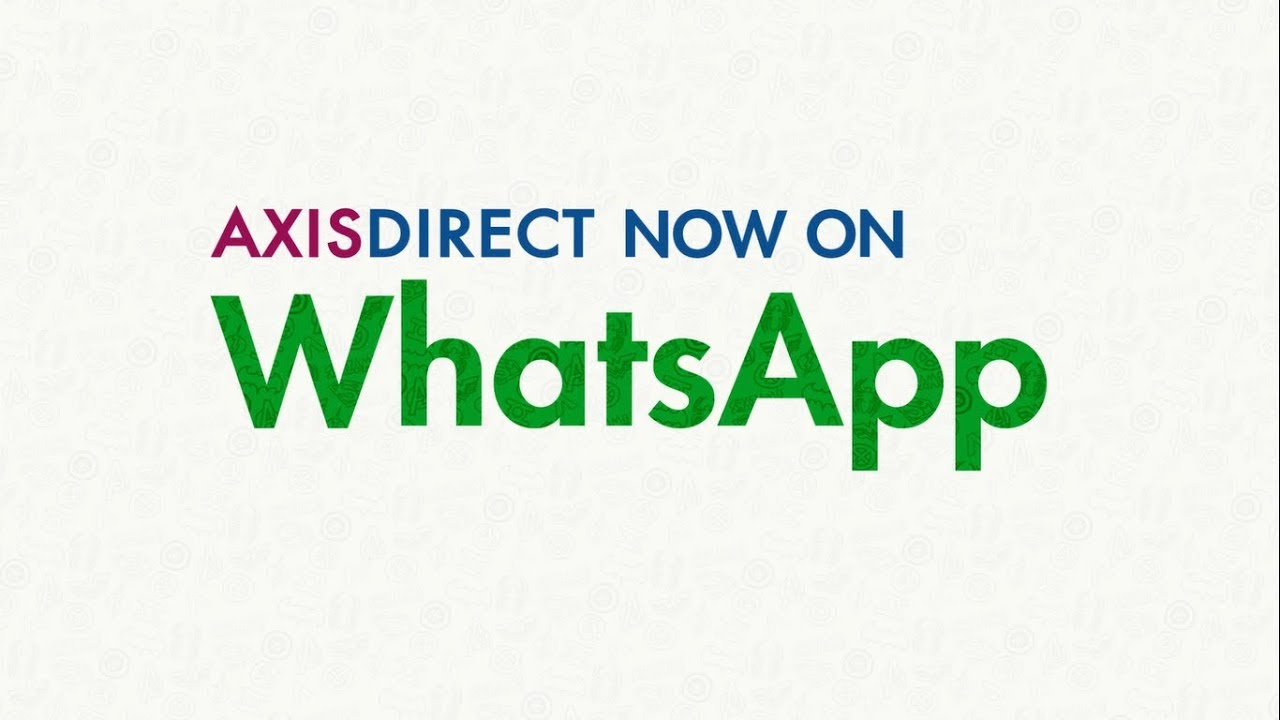 AxisDirect Now On Whatsapp