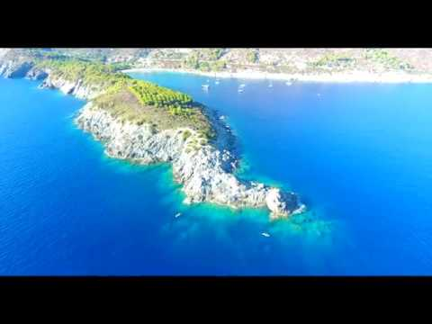 Elba from the Sky - A dream - 4K