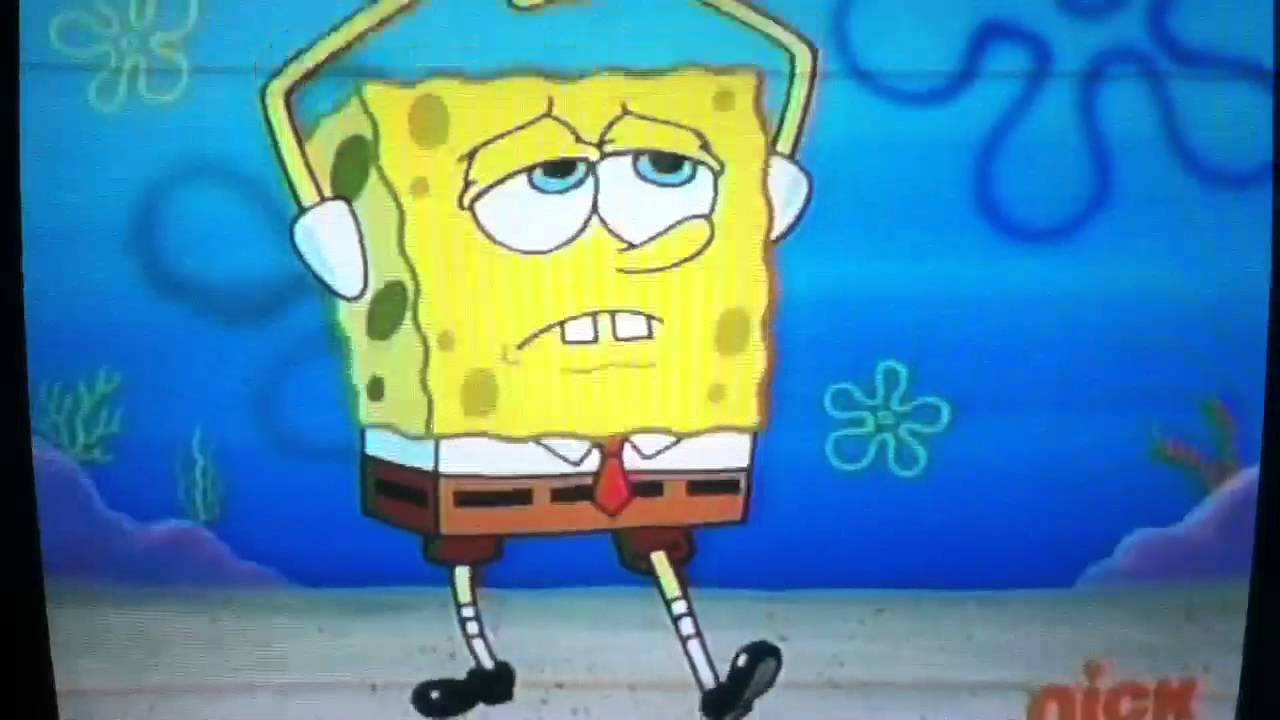 Spongebob Breaks His Fingers Youtube